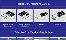 Rooftop PV Mounting System